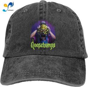 Goosebumps Unisex Adult Cap Adjustable Cowboys Hats Baseball Cap Fun Casquette Cap.