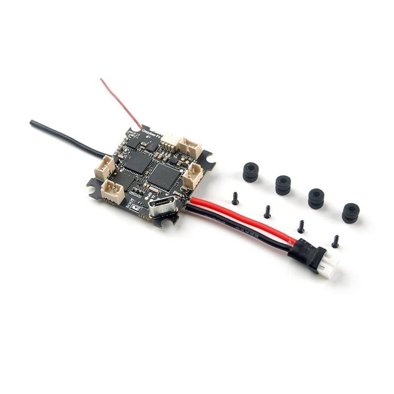 Crazybee F4 Lite 1S Flug Controller Gebaut-in 5,8G VTX 4in1 ESC Frsky/Flysky RX für mobula 6 Tiny BWhoop Mobula6