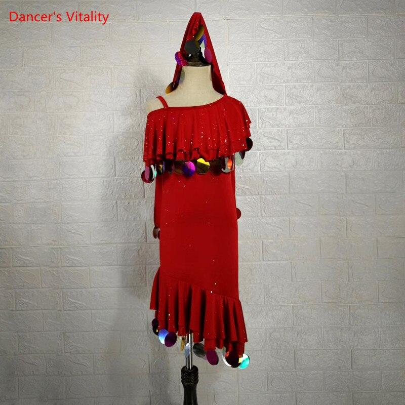 بدلة رقص شرقي ، ياقة على شكل v ، بلوزة ، نصف كم ، تنورة قصيرة ، ملابس أداء مطرزة ، شخصية ، للنساء والأطفال والبالغين
