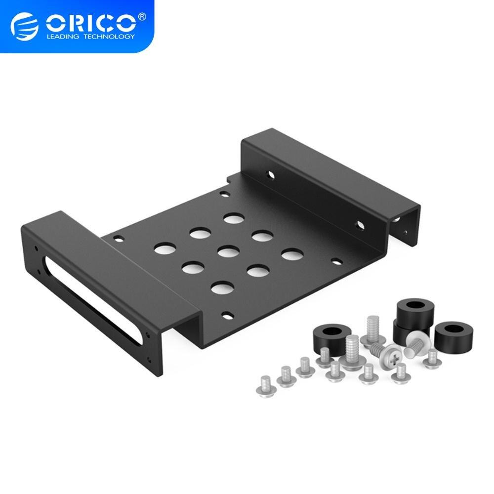 ORICO алюминиевый 5,25 дюйма до 2,5 или 3,5 дюйма жесткий диск HDD SSD конвертер адаптер Монтажный кронштейн с винтами жесткий диск Caddy
