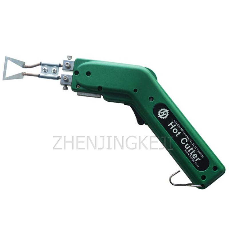 220V/110V Electro-thermal Knife Sponge Foam Wall Covering Heat Cut Knife Cloth Cut Cloth Knife Cord Electro-thermal Cut Tools