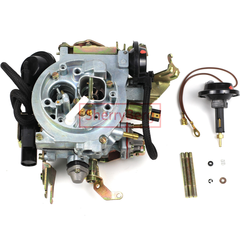 SherryBerg جديد 2E Carb Carburettor المكربن يصلح لفولكس واجن فولكس فاجن جولف جيتا 2E لأودي بيربورغ فيرغاسر 026129015