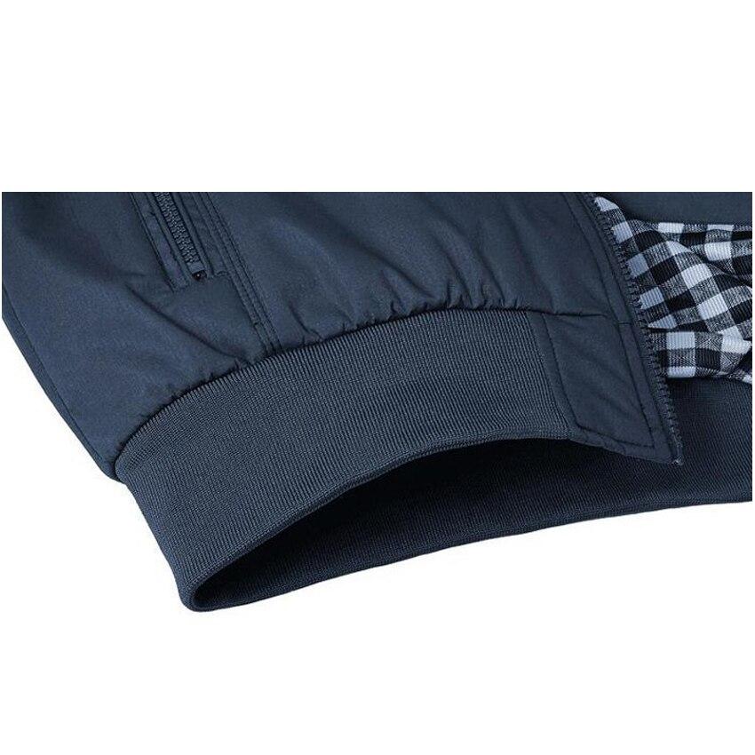 Spring Autumn Casual Mens Jackets Plus Size 5XL jaqueta masculina Sportswear Bomber Jacket Mandarin Collar Jacket homme
