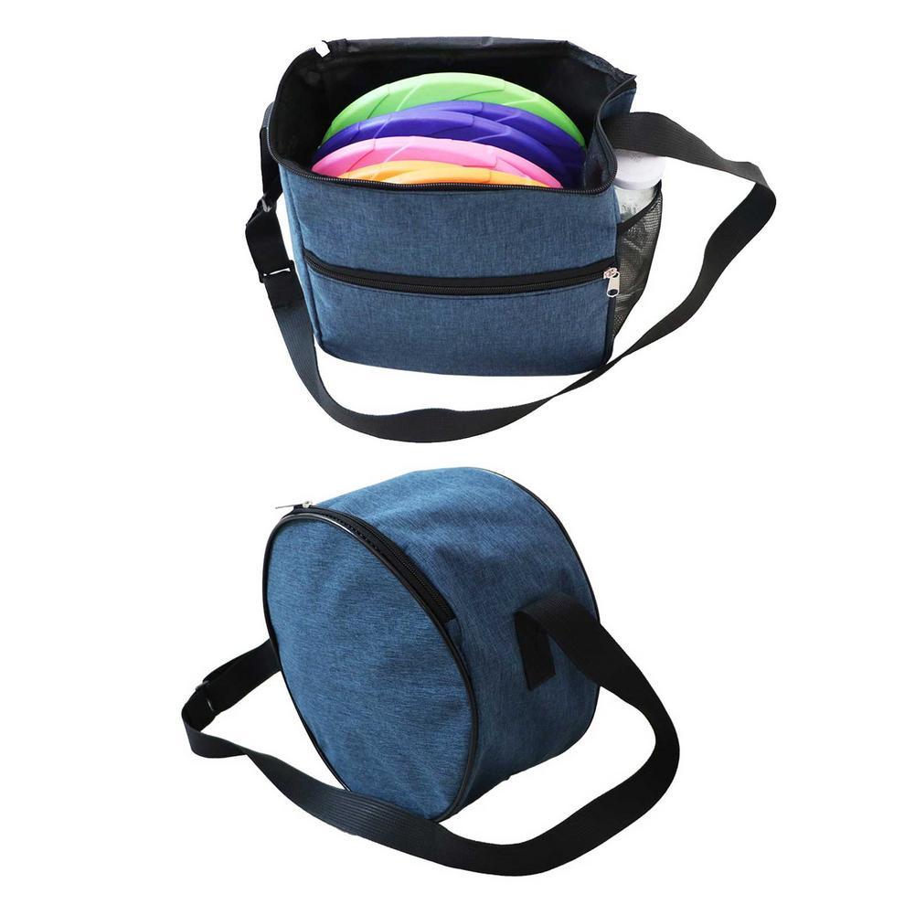 Mochila de disco volador para Entrenamiento de mascotas al aire libre, bolsa...