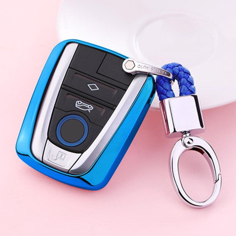 2019 Новый ТПУ чехол для автомобильного ключа для BMW I3 I8 серии мягкий TPU автомобильный держатель оболочка для стайлинга ключей защитный брелок аксессуары