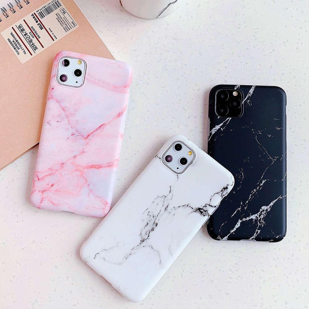 Funda de teléfono de mármol de silicona para Huawei P30 P20 Lite Mate 20 Pro, funda para iphone SE 2020 11 Pro Max 6 7 8 Plus