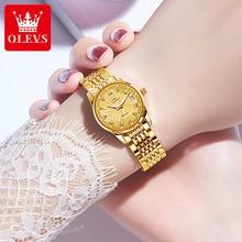 Automatic Watch Women Mechanical Watches Luxury Waterproof Gold Stainless Steel Diamond Ladies Watch