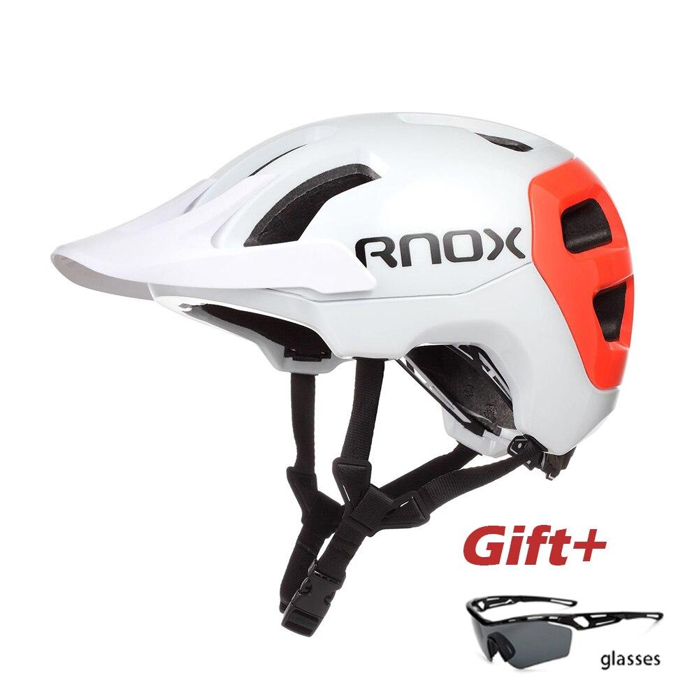 RNOX-casco de ciclismo de montaña para hombre y mujer, accesorio para deportes...