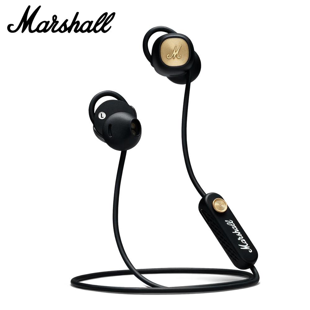 Fones de Ouvido sem Fio Apto para Smartphone Marshall Menor Bluetooth Fones Graves Profundos Esporte Fone Ergonômico Música ii 5.0