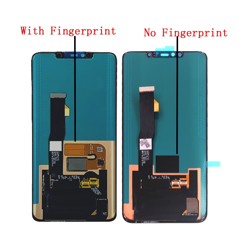 6.39''  Original Display with fingerprint For Huawei Mate 20 Pro LCD DISPLAY Touch Screen Digitizer Assembly Repair parts enlarge