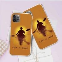 life is good phone covers for iphone 8 8plus xs max xr xs 7 7plus 6 6s 6plus 5 5s se 11 11pro max se 2020 soft transparent cases
