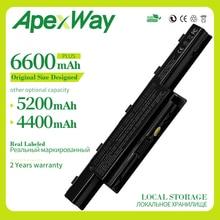 Apexway 6 Cellules 11.1v batterie dordinateur portable pour Packard Bell Easynote TK81 TK83 TK87 TK85 TK37 AS10G3E TS11HR TS11SB TS13HR AS10D61