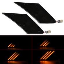 2 pces dinâmico led turn signal light sequencial blinker lado marcador de luz para subaru brz para scion FR-S para toyota ft86 2013-2019
