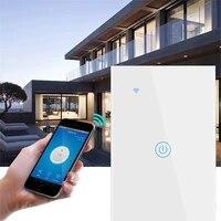 Interrupteur mural intelligent Zigbee  1 2 2021 boutons  pour Alexa et Google Home Assistant  application Smart Life Standard US  nouveaute 3 4