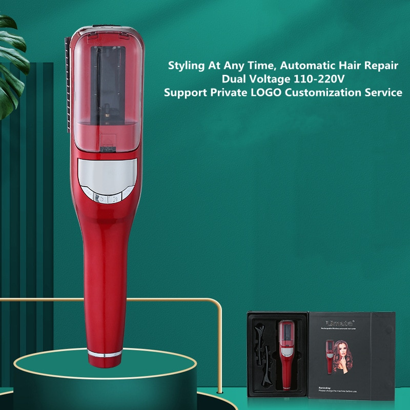 New Split Hair Trimmer 110-220V Dual Voltage With Hair Straightening Function hair trimmer for woman enlarge