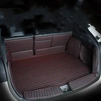 special car trunk mats full surrounded tpe xpe nonslip 3d waterproof boot carpets for hyundai ix35 elantra sonata tucson santafe