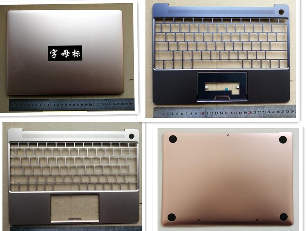 جديد محمول حافظة lcd الغطاء الخلفي/حافظة علوية palmrest/حافظة قاعدة سفلية لهاتف هواوي Matebook X WT-W09