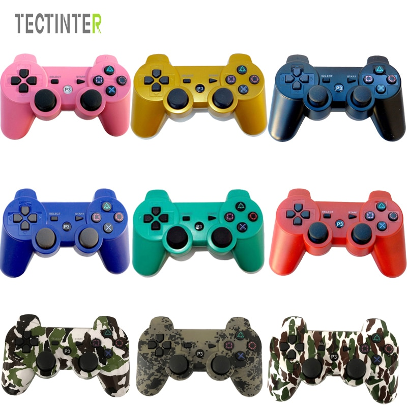 For Sony PS3 Controller Wireless Bluetooth For PC Gamepad For Sony Playstation 3 Console Controle Mando Joystick PC game support bluetooth wireless controller for sony ps3 gamepad for ps3 console joystick for sony playstation 3 pc for dualshock