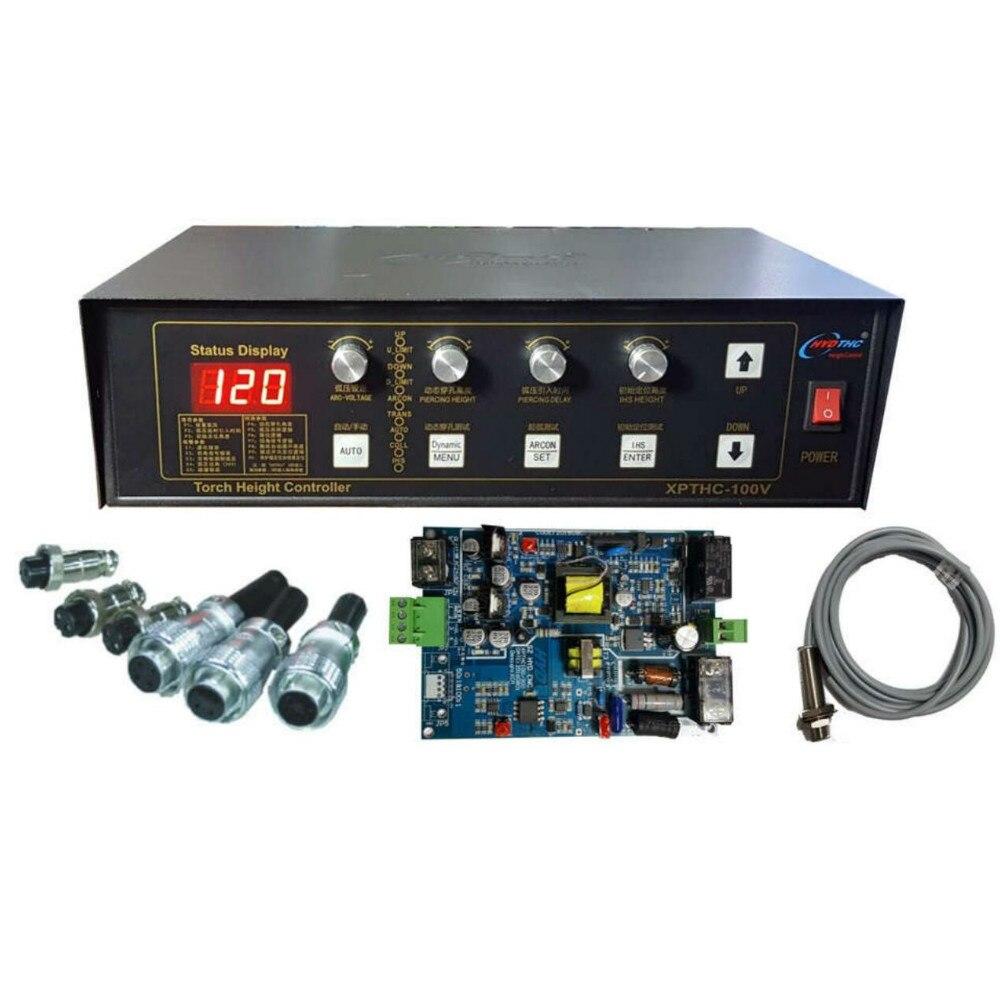 ارتفاع قابل للتعديل مكتب تحكم/cnc البلازما الشعلة ارتفاع التحكم XPTHC-100V