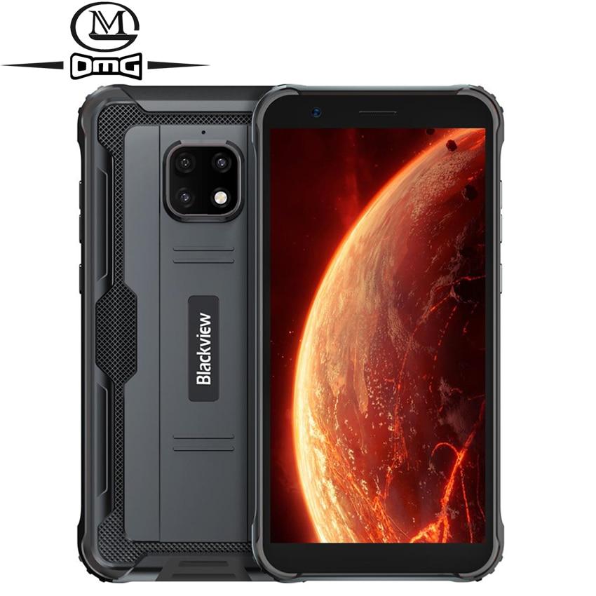 Перейти на Алиэкспресс и купить Blackview BV4900 NFC Android 10 прочный Водонепроницаемый, смартфон, 4G, 3 Гб оперативной памяти + 32 ГБ IP68 противоударный мобильный телефон 5580 мАч 5,7 дюйммобильн...