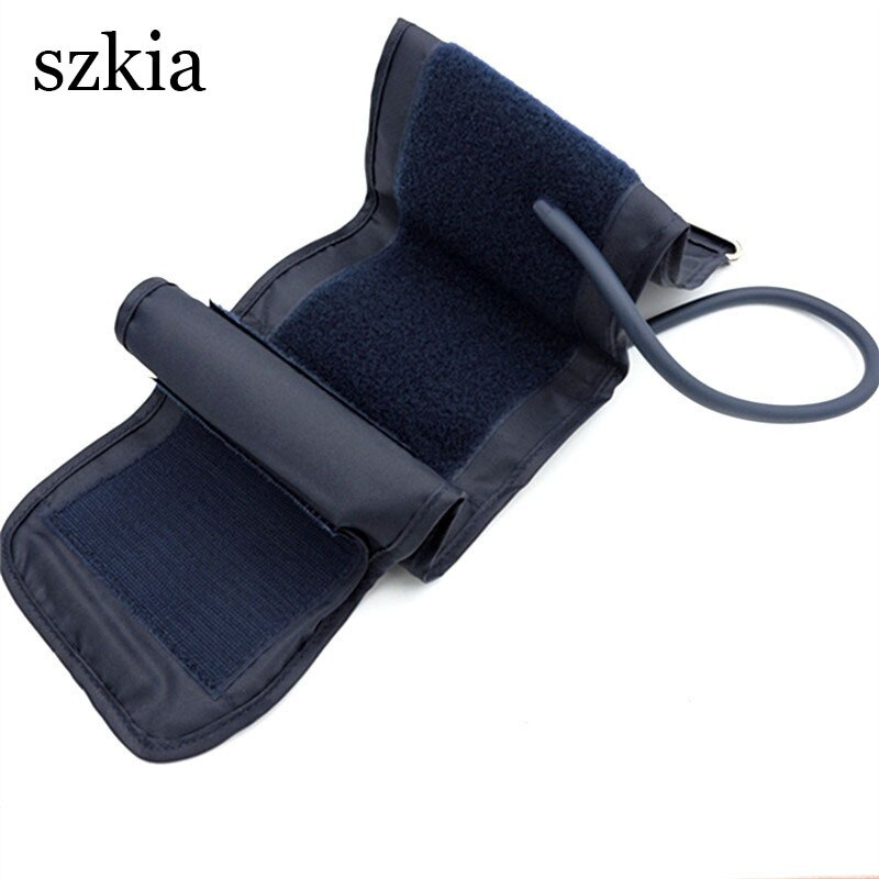 Arm type sphygmomanometer arm band with arm band connector