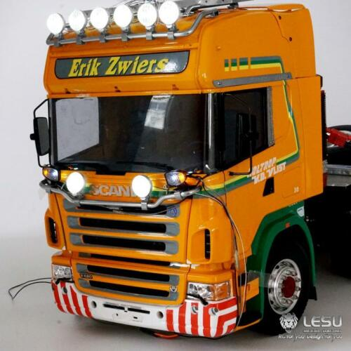 US Stock LESU LED Spotlight Toplight For 1/14 RC TAMIYA R620 R470 Model Tractor Sca Truck enlarge