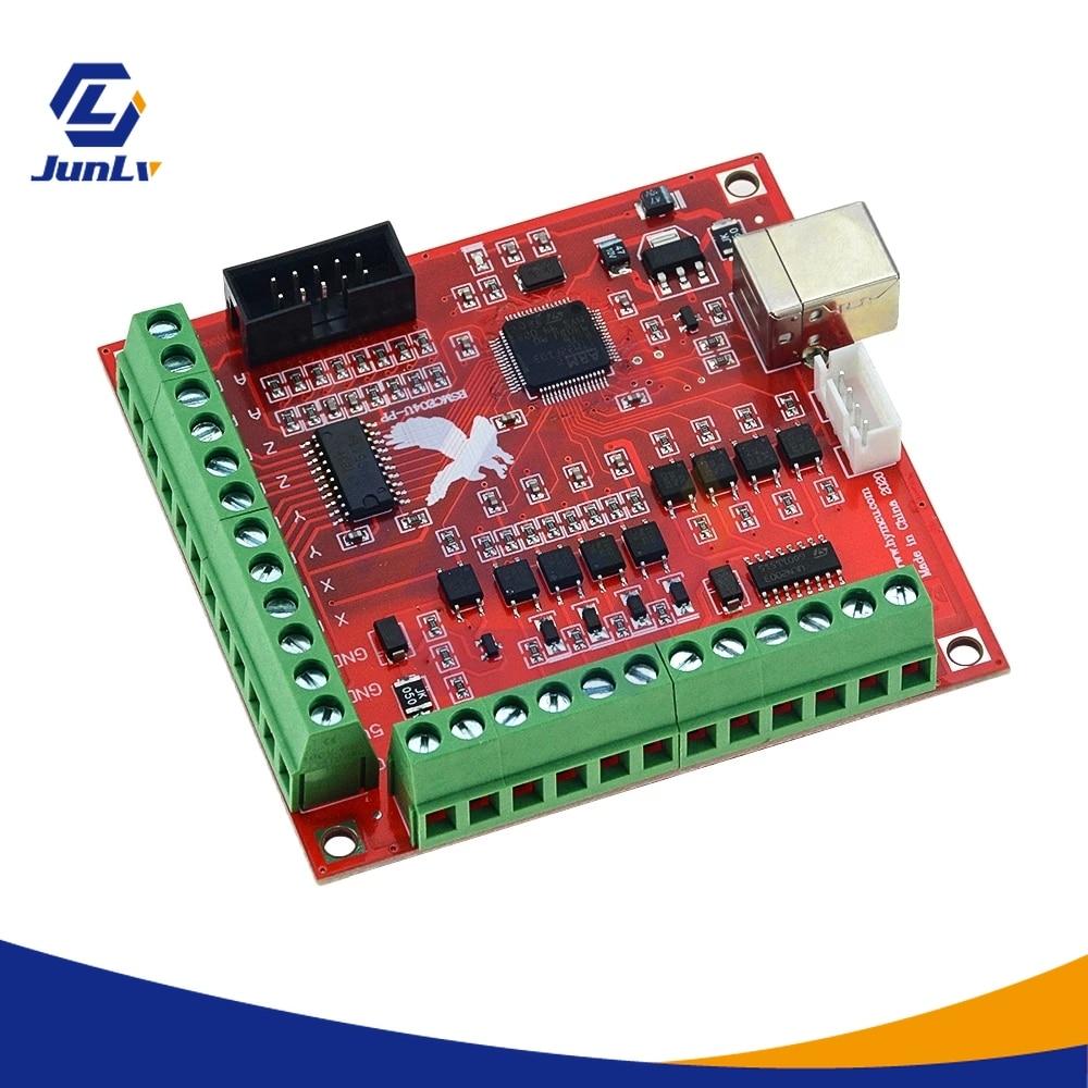 MACH3 100Khz USB بطاقة الإخراج | لوحة التحكم في الحركة ، واجهة 4 محاور ، سائق الحركة ، اردوينو ، وحدة تحكم سرعة المحرك