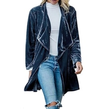 2020 Women Trench Coat Fall 2020 Clothing Streetwear Cool Female Solid Color Long Sleeve Jackets Tre
