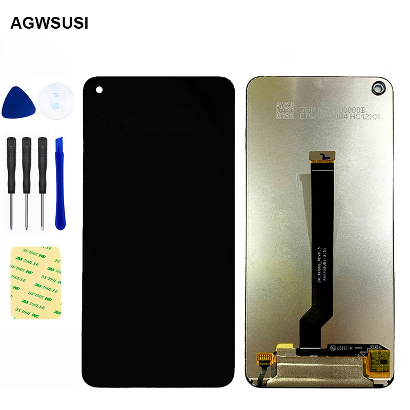 6.3 'AMOLED لسامسونج غالاكسي A60 A606F/DS A6060 A606FD LCD عرض تعمل باللمس محول الأرقام الجمعية شحن مجاني استبدال