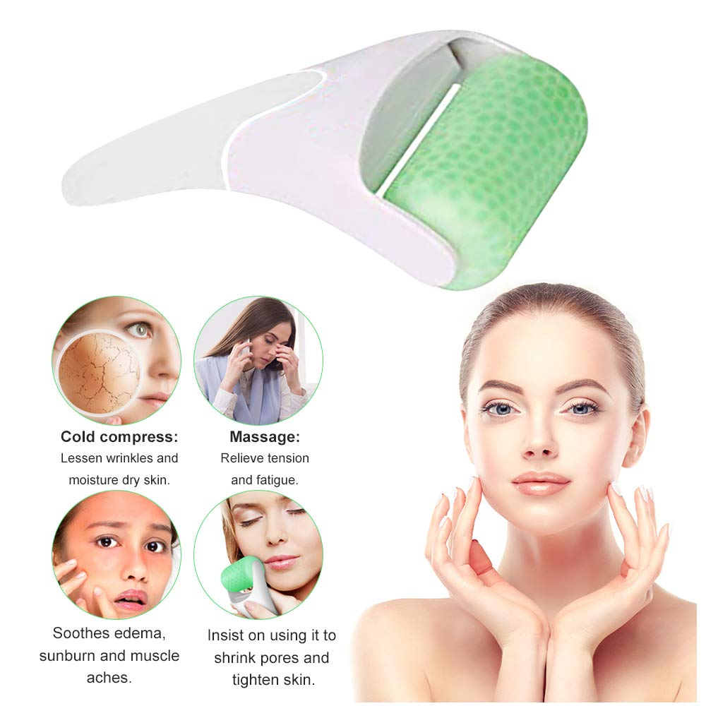 OLOEY Face Roller Ice Roller for Face and Eyes - Prevent Wrinkles,Shrink Pores Eliminate Edema,Relie