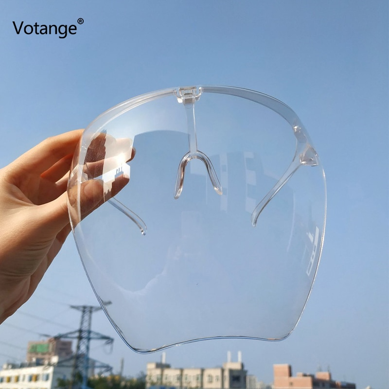 Women Men Protective Faceshield Glasses Goggles Full Face Covered Spherical Lens Anti-Spray Mask Saf