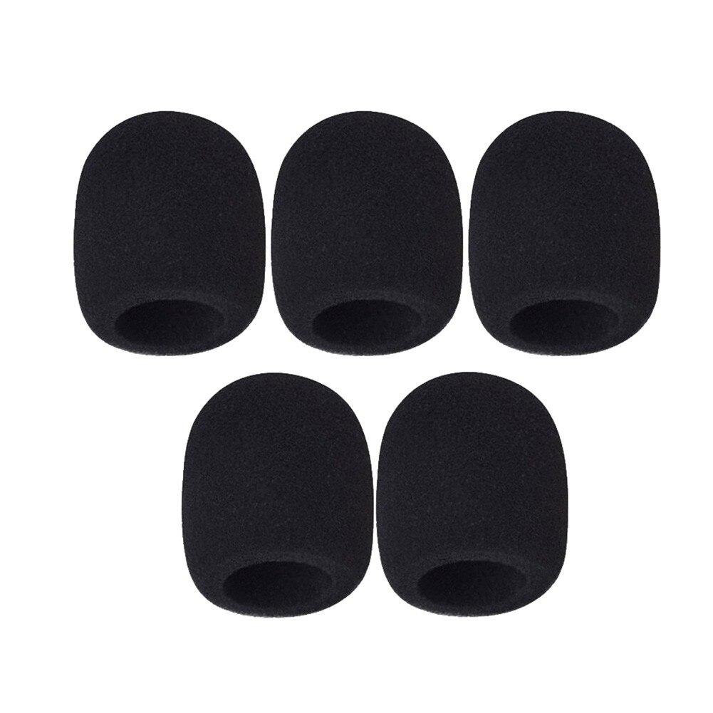 Пенопластовые Чехлы для микрофона и ветрового стекла, 5 шт./упаковка, высококачественные Чехлы для ветрового стекла, неодноразовые чехлы из ...