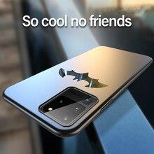 Coque de téléphone Ultra-mince en métal Batman mat pour Samsung Galaxy S20 S10 5G S9 S8 Note 10 9 8 Plus Coque de Protection magnétique