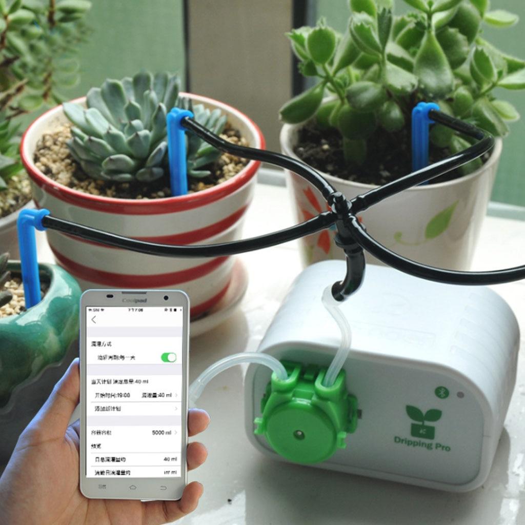 الهاتف المحمول التحكم توقيت ذكي مصنع بالتنقيط الري أداة مضخة المياه الموقت نظام حديقة جهاز الري التلقائي J25