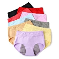 womens underwear physiological pants warm proof incontinence leak proof menstrual knickers cotton health seamless briefs