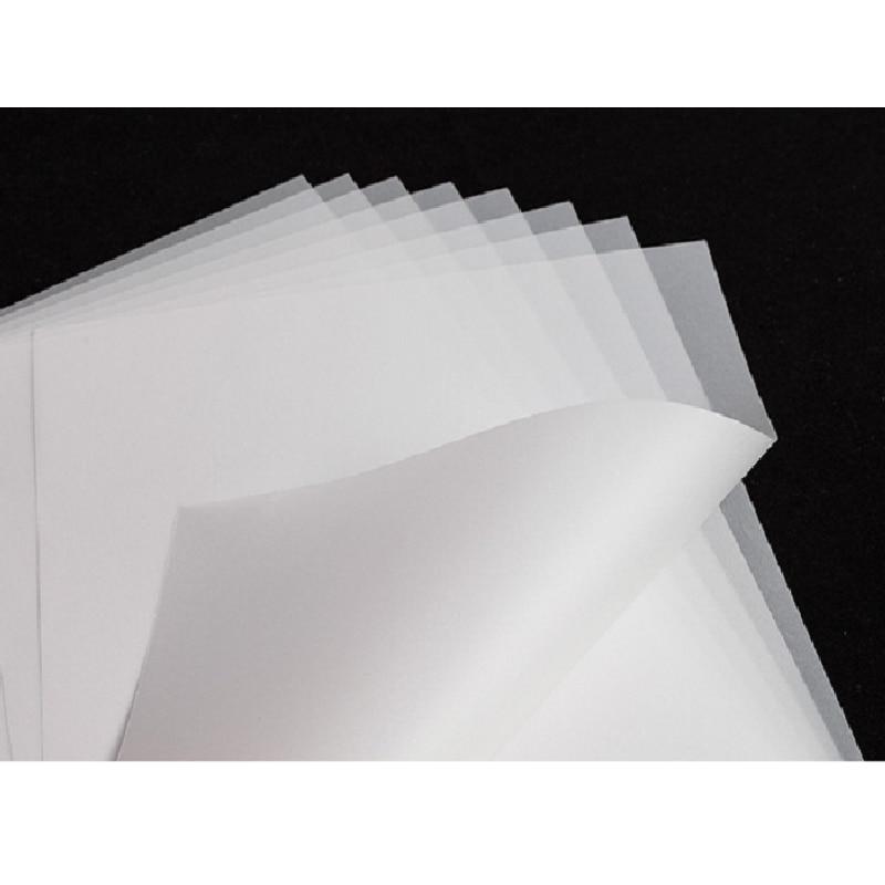 شحن مجاني 100 قطعة A3 PET نقل فيلم للنقل المباشر طبع أغشية ل DTF حبر الطباعة PET طبع أغشية ونقل