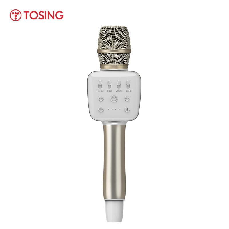 توسينج-ميكروفون احترافي V2R ، جهاز إرسال لاسلكي يعمل بالبلوتوث ، صوت جهير/إيكو ، جودة عالية