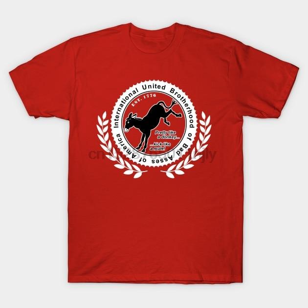 ¡Camiseta de hombres Bad Asses Unite! Camiseta con estampado de Bad Ass