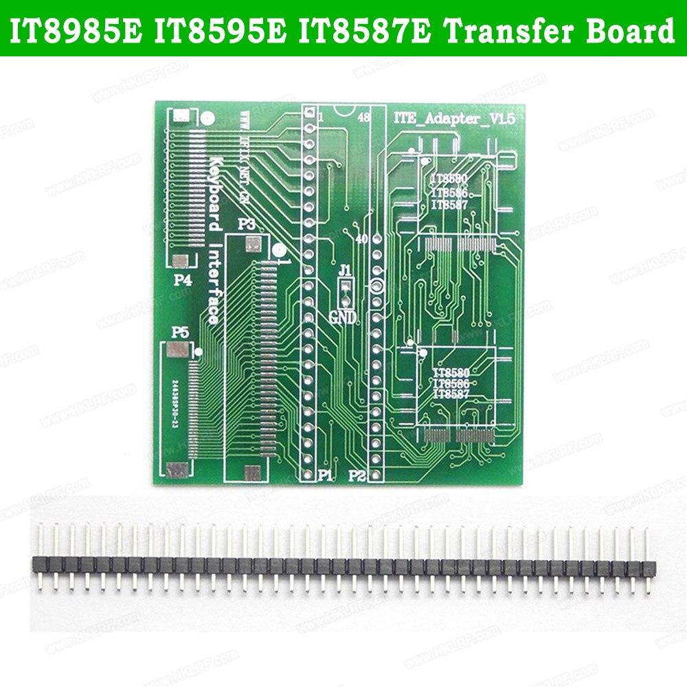 Программатор RT809H RT809F, плата расширения печатной платы IT8985E IT8595E IT8587E IT8586E IT8586E it858585e IT8580E, переносная плата, 2 шт./лот