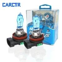 carctr halogen bulb car headlights aurora halogen 12v h1 h3 h4 h7 h8 h11 9005 9006 880 881 ultra white 6000k halogen lights
