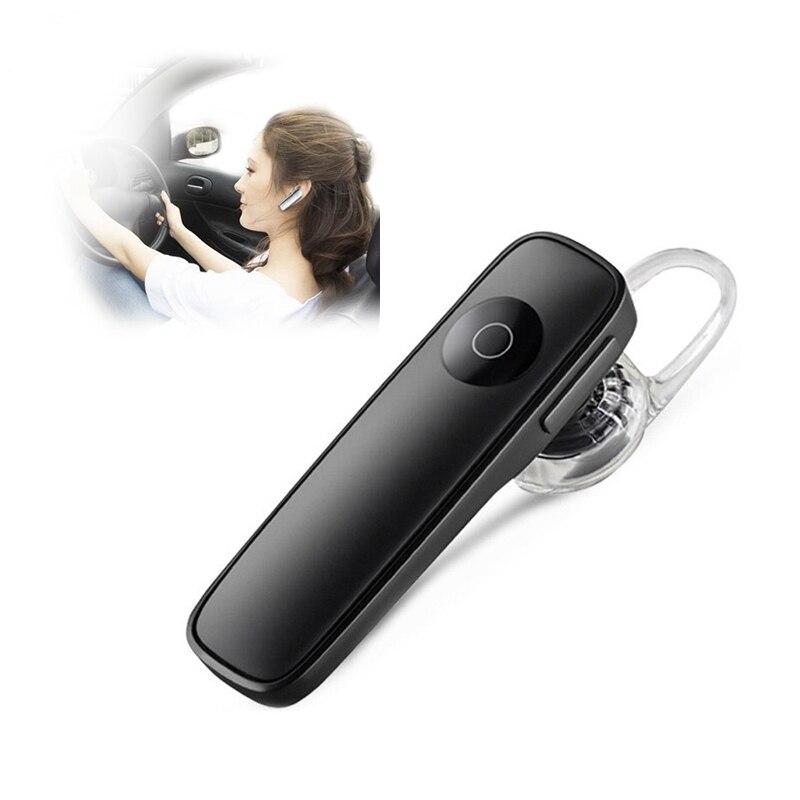 Auricular con manos libres y Bluetooth para el coche, auriculares inalámbricos para negocios deportivos, Auriculares resistentes al sudor, reducción de ruido, micrófono incorporado