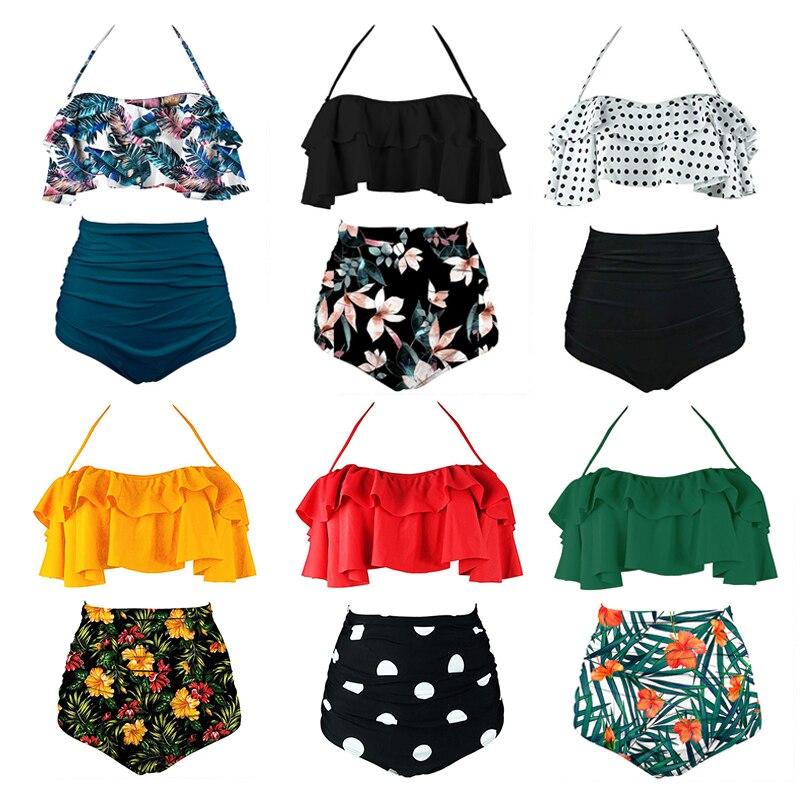 2020 Sexy Bandeau Bikinis Women Swimsuit Push Up Swimwear Brazilian Bikini Set Beach Bathing Suit Swim Wear Biquini XXL