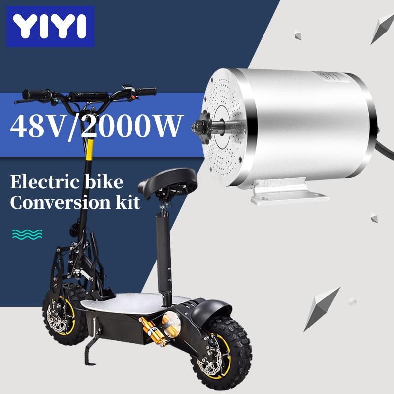 Electric Scooter Bicycle BLDC 36V/48V/60V/72V 2000W Brushless Motor For E Bike Motorcycle 2 Wheel Balance Scooters E Bike DIY