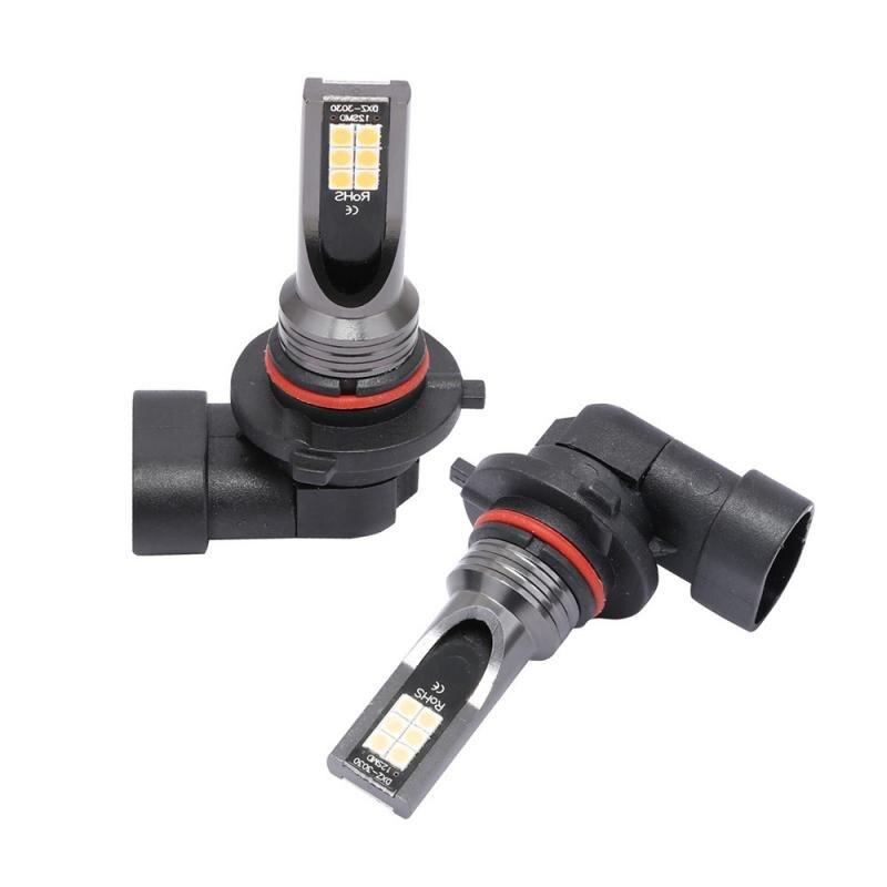 2 шт., автомобисветильник светодиодные лампы H8 H11 H7 9005 9006 H1 H3