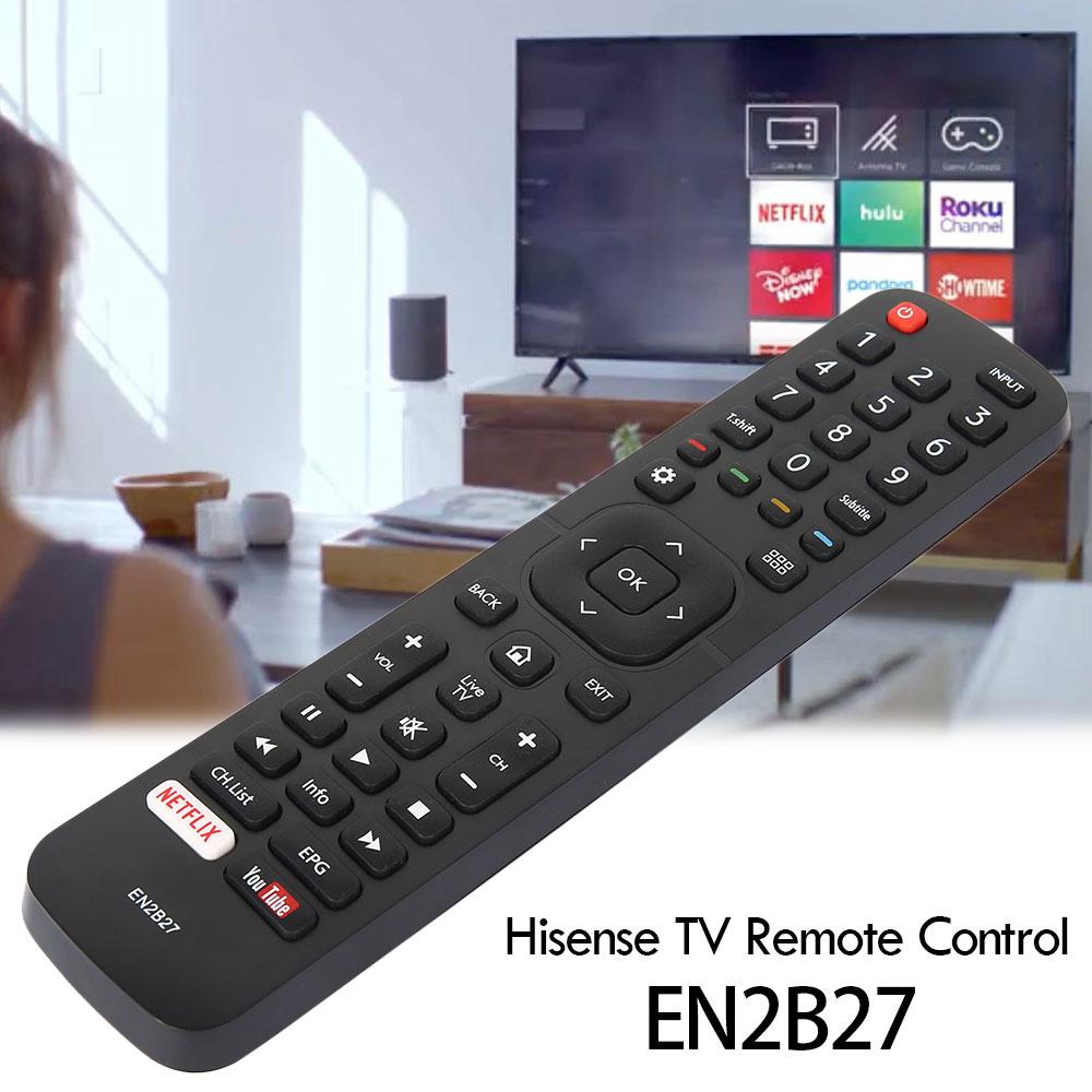 New EN2B27 TV Remote Control Replacement for Hisense 32K3110W 40K3110PW 50K3110PW 40K321UW 50K321UW Controller Home Supplier