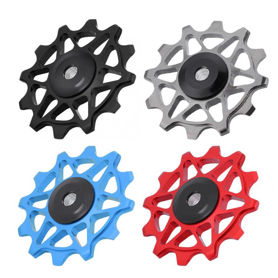 Polea De cambio trasero de bicicleta 4 colores ligero 12T CNC bicicleta de montaña rueda piezas de bicicleta