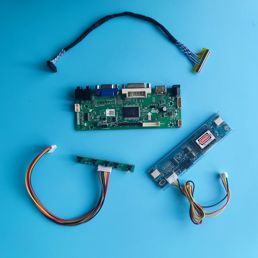 HDMI-متوافق + DVI + AUDIO + VGA وحدة تحكم بشاشة إل سي دي لوحة عدة عرض ل 18.5