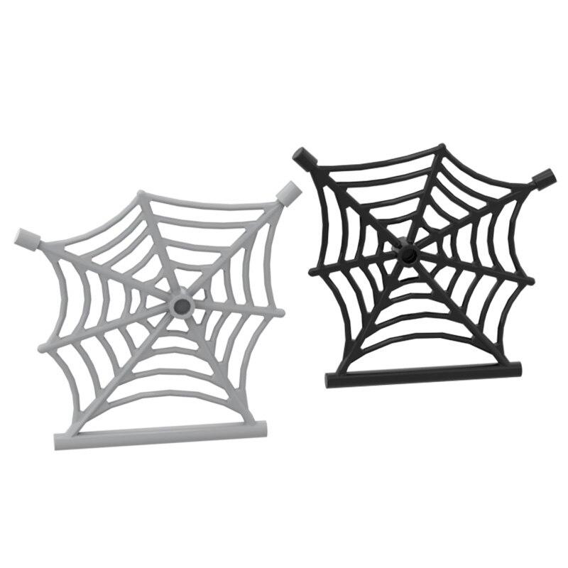 MOC Bricks 90981 Spider Web with Rod Ldd90981 for Building Blocks Parts DIY Construction Christmas Gift Toys