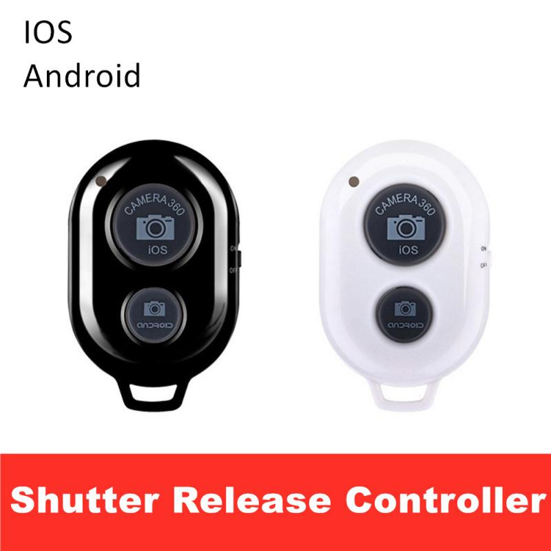 Shutter Release Button For Selfie Camera Controller Adapter Photo Camera Control Bluetooth Remote Bu