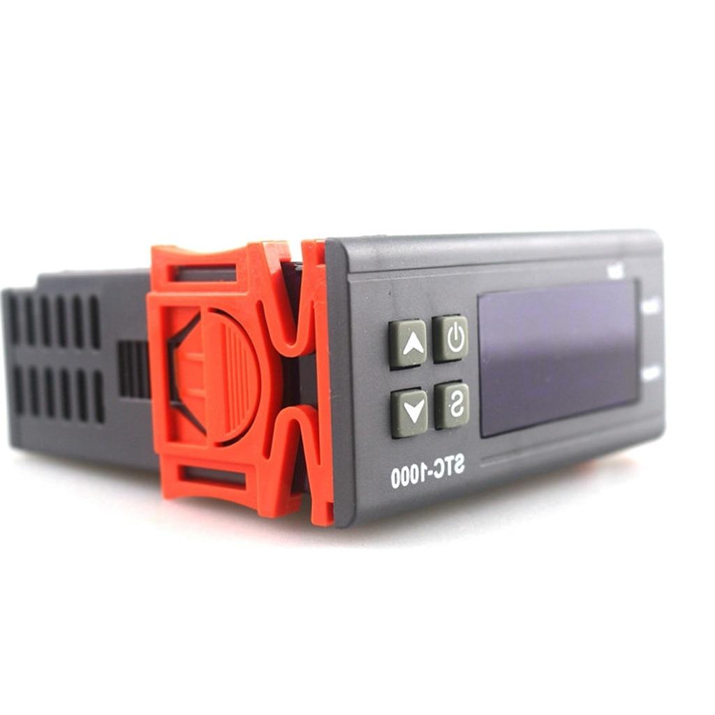 Controladores de termostato de temperatura, Centigrade Fahrenheit y, Sensor de 110 V, K, relé de estado sólido para Sous Vide, elaboración casera